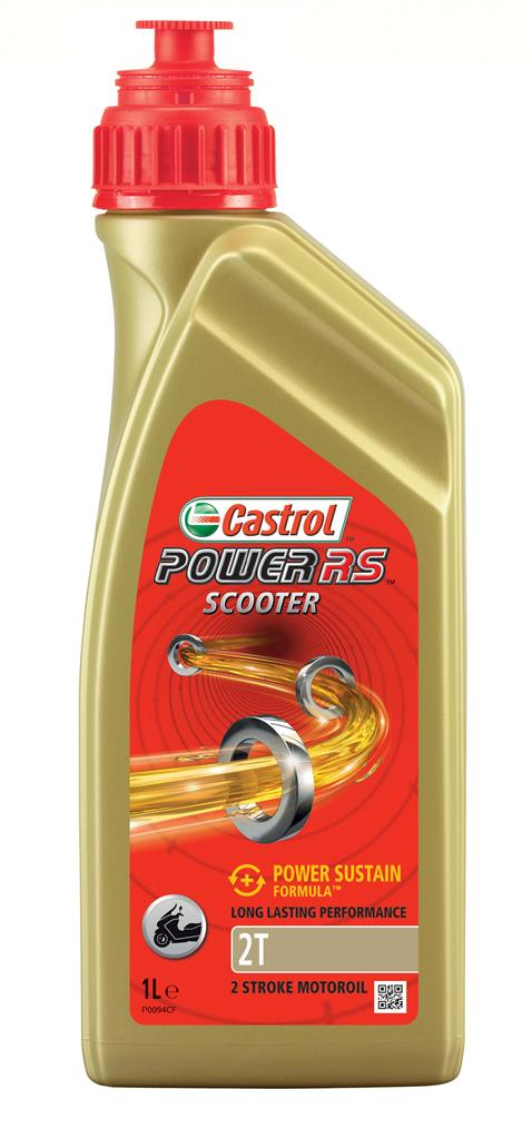 CASTROL POWER RS SCOOTER 2T 12X1 L